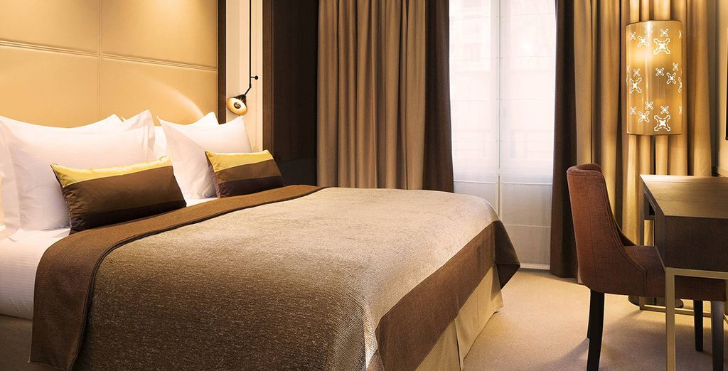 Installez-vous dans votre chambre Villa Classic
