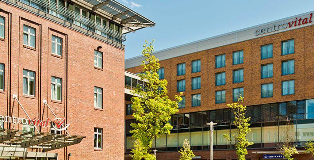 Ce bel hôtel situé à environ 20 kilomètres de Berlin vous accueille dans un superbe cadre