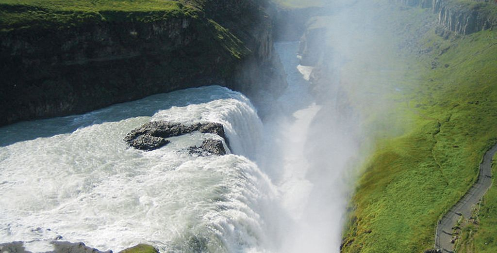 Vous explorerez l'incroyable Islande
