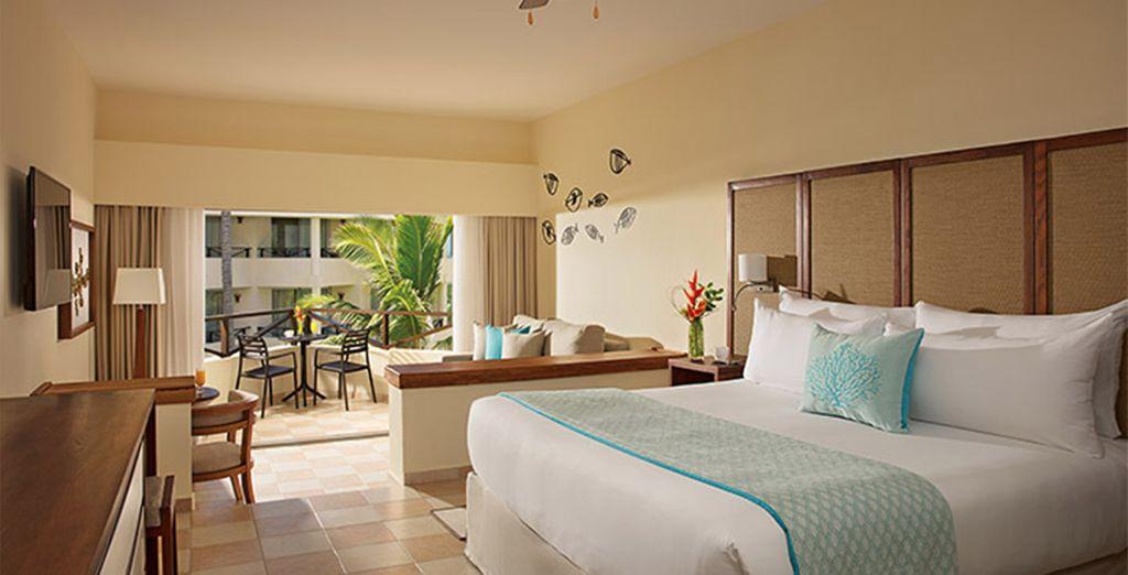 Ou préférez la chambre Sun Club Deluxe Tropical View
