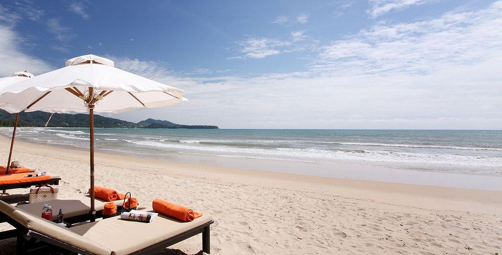 Au bord des plages de Phuket