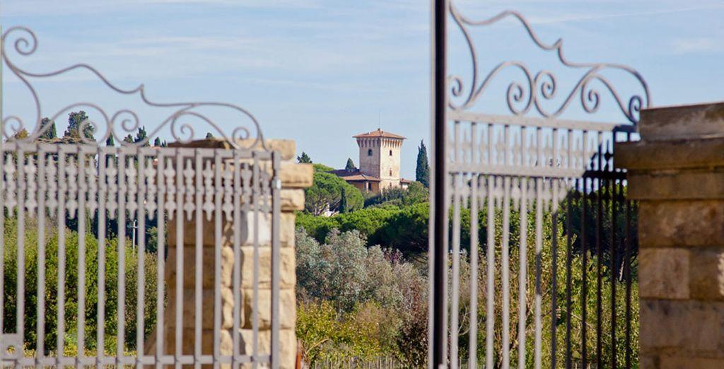 Poussez les portes de la Villa Tolomei