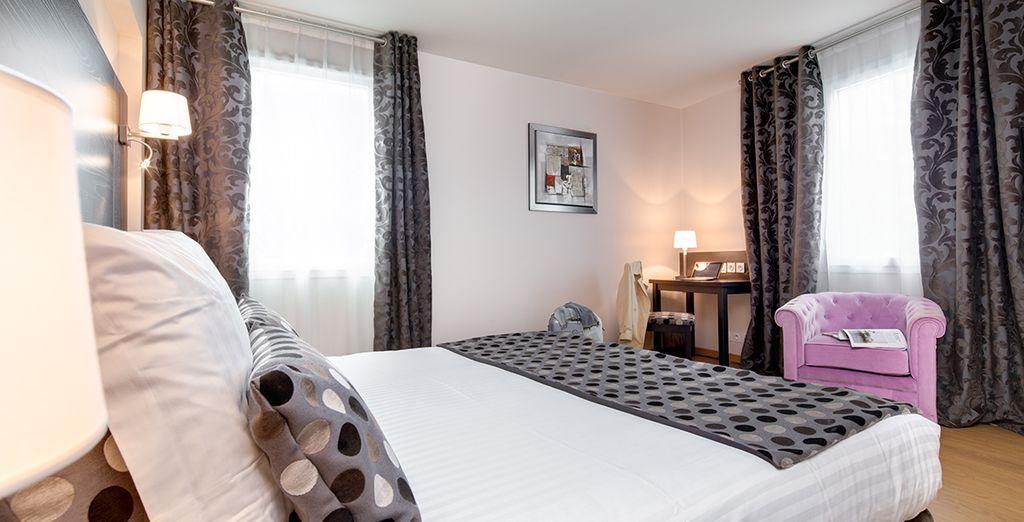 Hôtel 4 étoiles haut de gamme avec chambre tout confort au cœur de Nantes