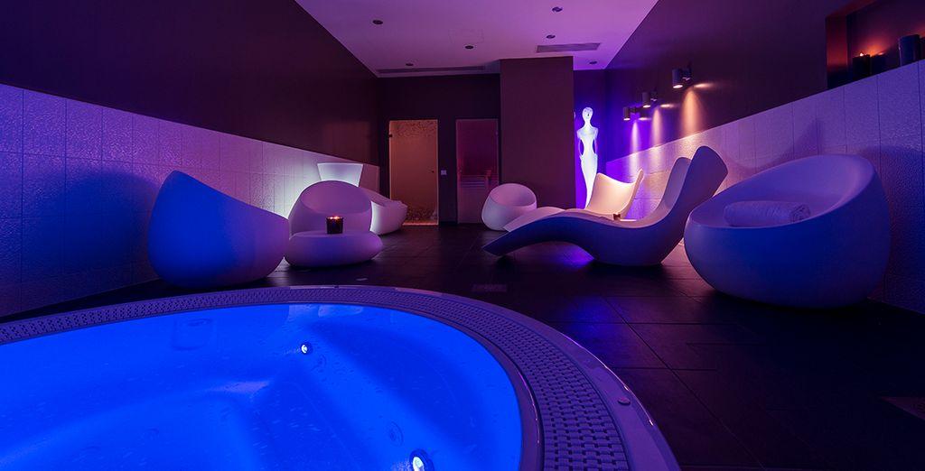 Hôtel romantique avec spa et espace détente