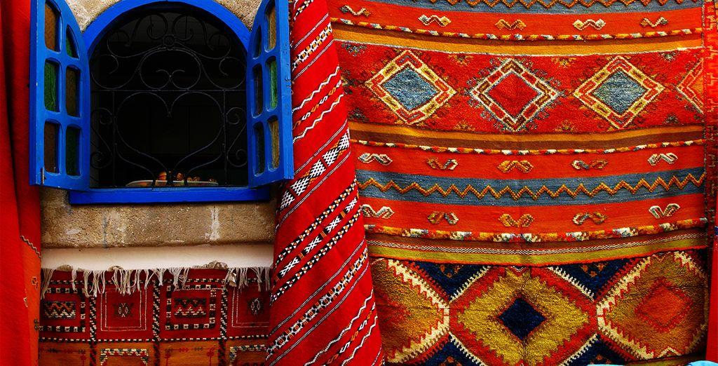 Une chose est sûre : les couleurs du Maroc...