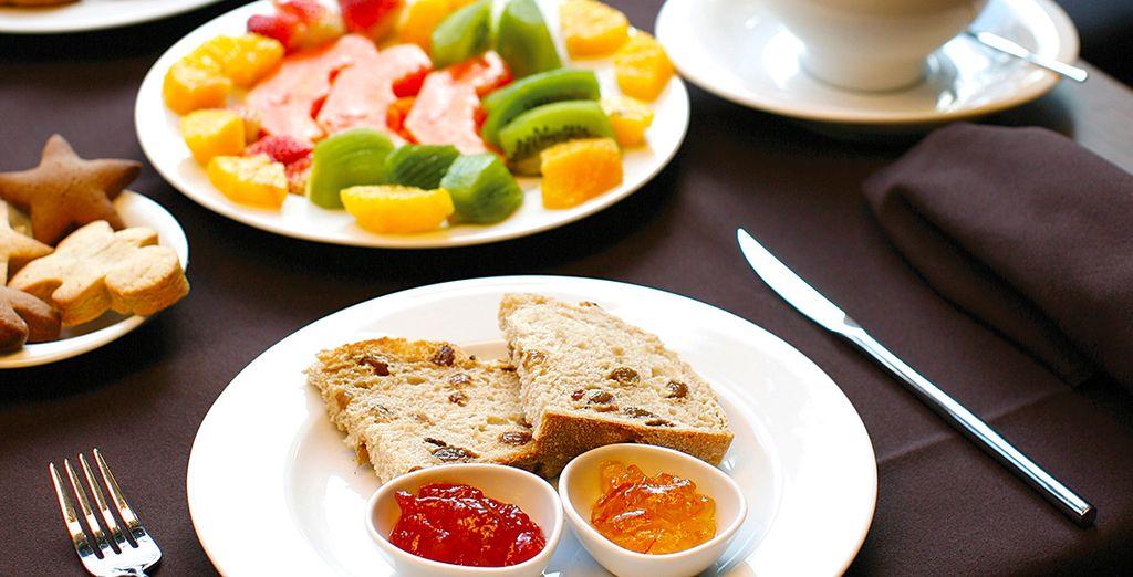 Débutez la journée en douceur par un petit-déjeuner savoureux