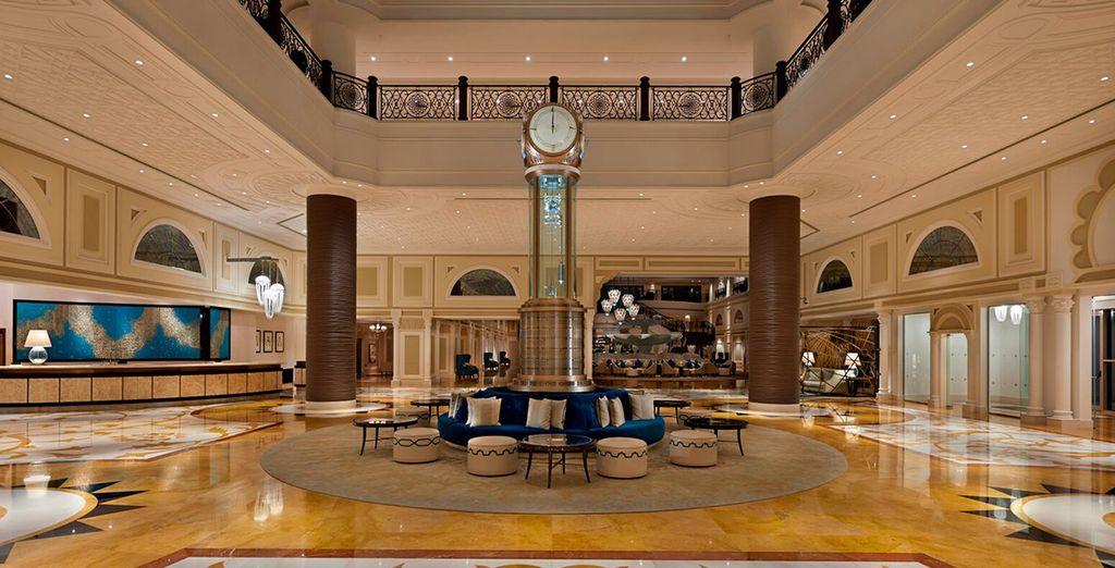 De l'hôtel Waldorf Astoria Ras Al Khaimah