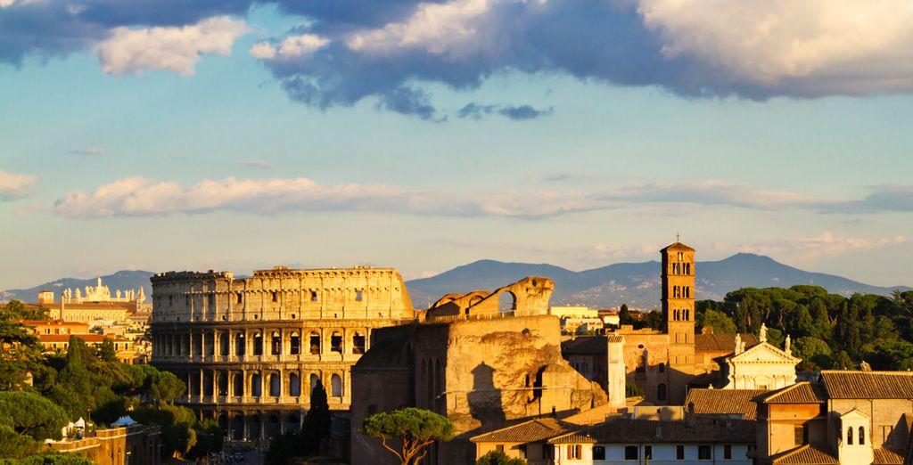 Venez succomber aux charmes de Rome !