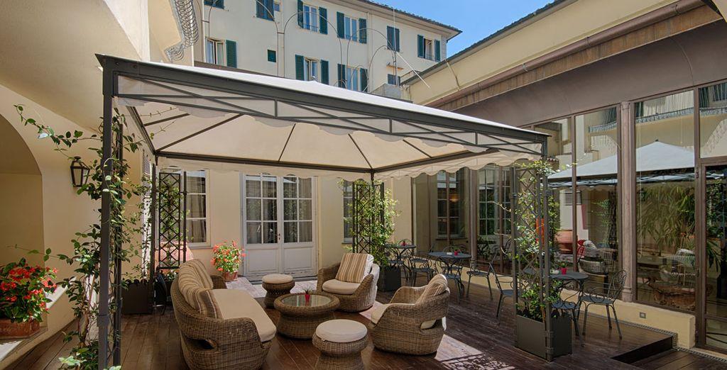 Ou prendre le soleil sur la terrasse