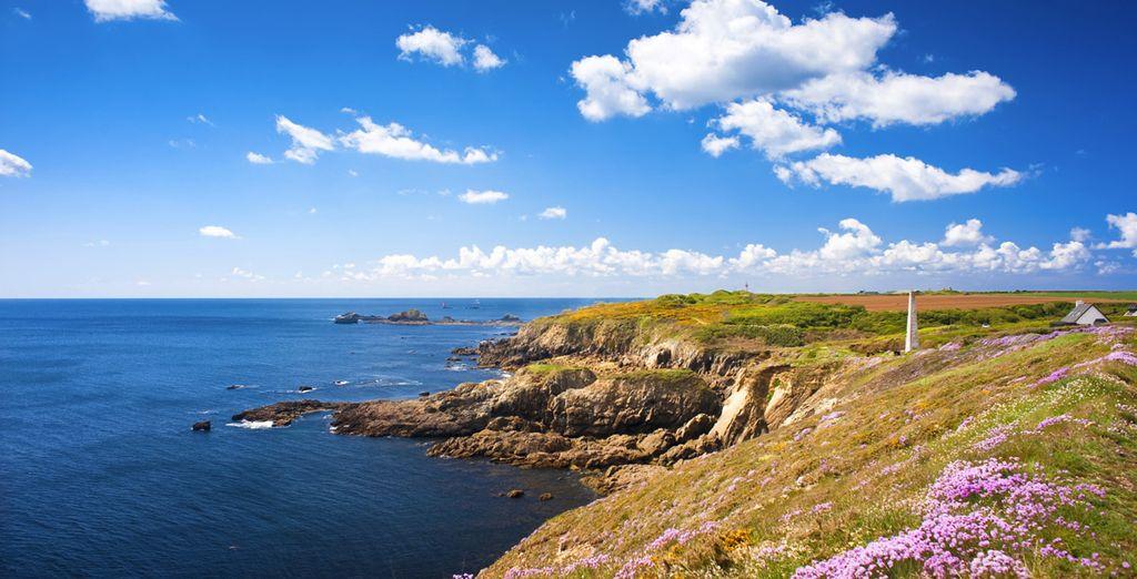 Vous allez adorer ce coin de Bretagne, excellent séjour !