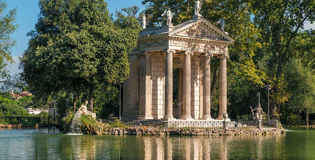 À quelques minutes à pied des jardins de la Villa Borghese