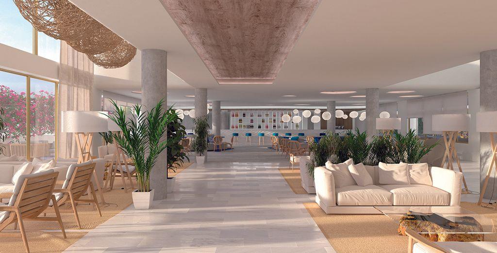 Un hôtel chic et moderne, à la contemporanéité subjugante