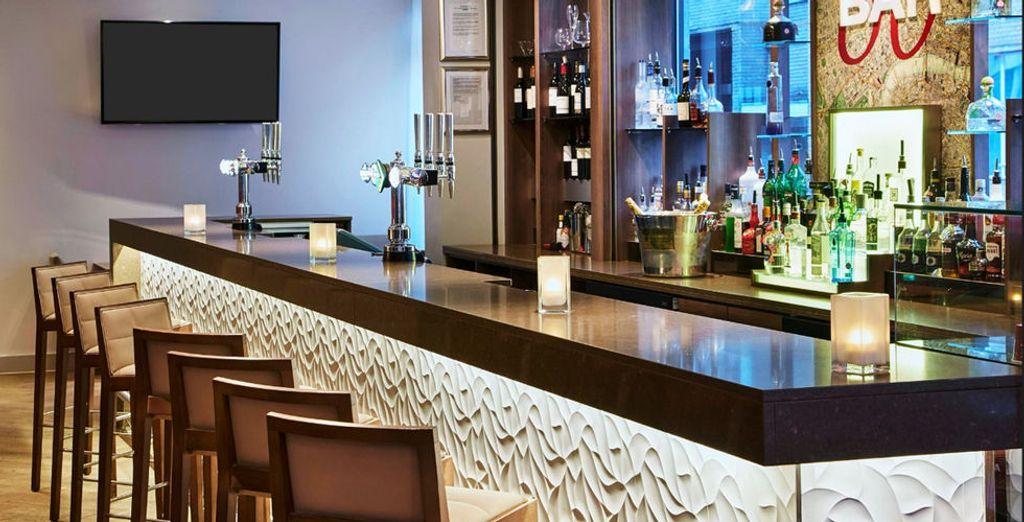 Faites une pause au bar...