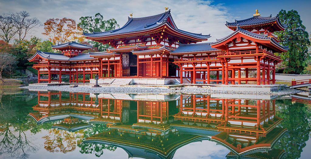 Entre temples...