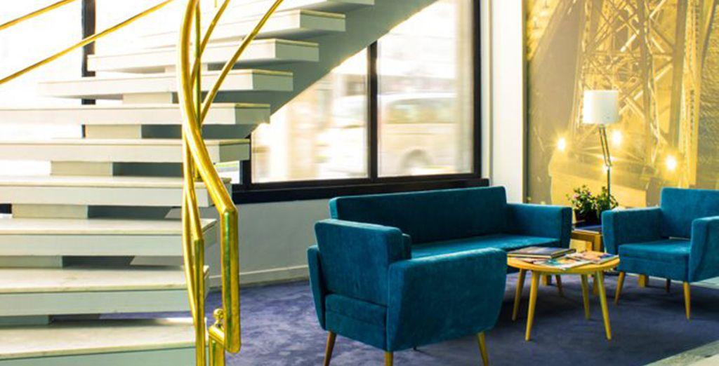 Un hôtel moderne où vous vous sentirez vite à votre aise