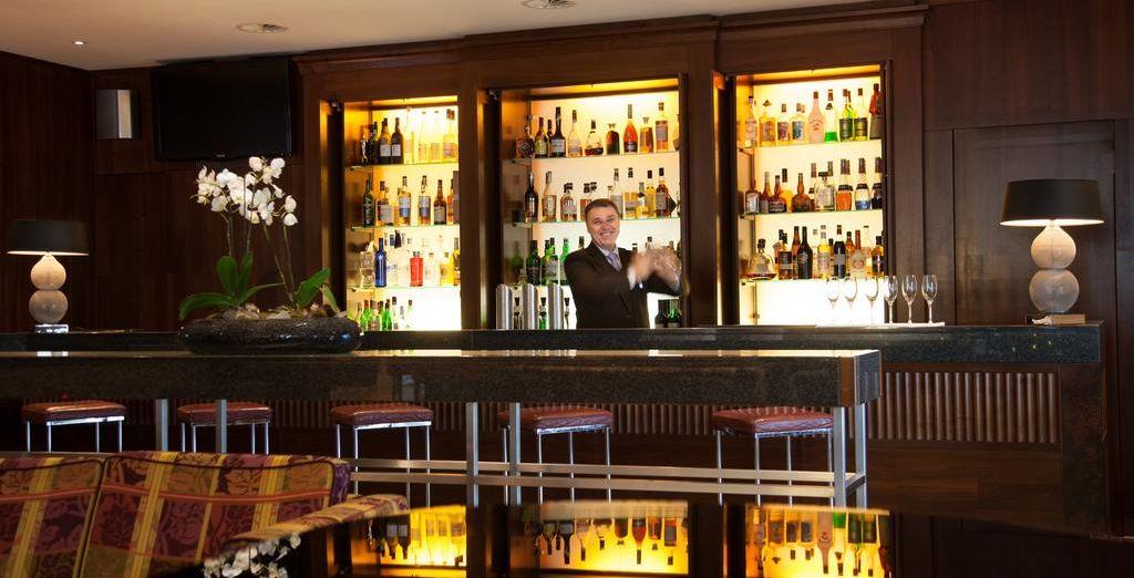 Et de prendre un dernier verre au bar