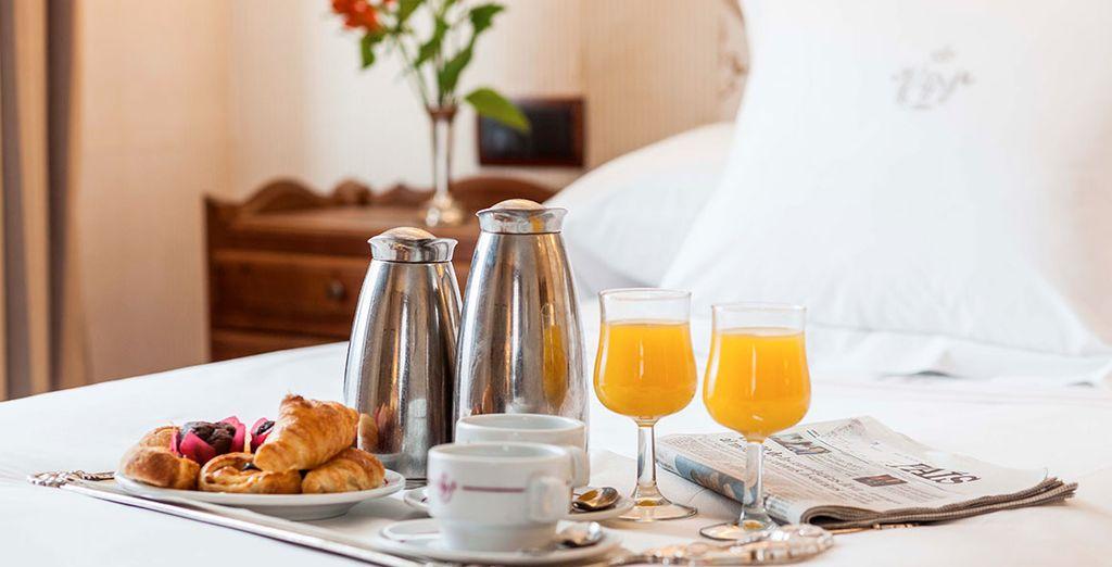 Durant ces quelques jours, vous séjournerez en formule petit-déjeuner