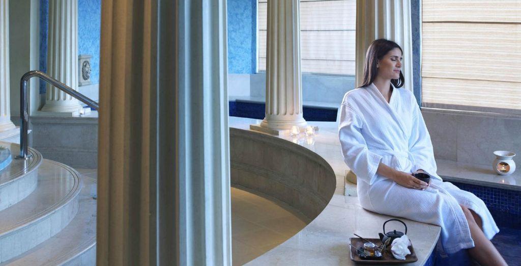 Profitez d'un halte relaxante au spa