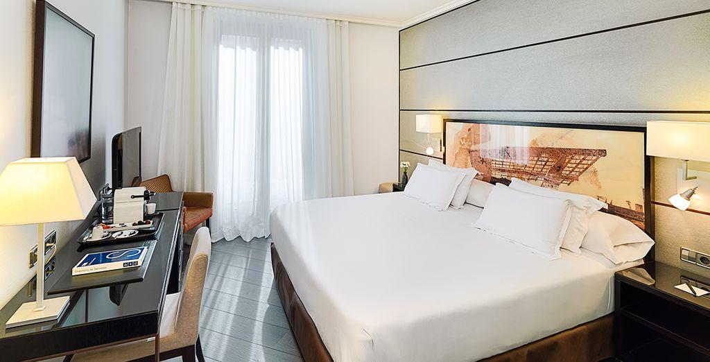 Avant de retrouver le confort de votre chambre Superior with Balcony