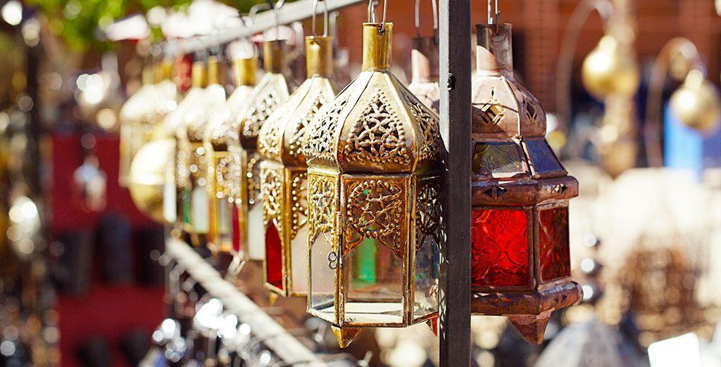 Rejoignez la magie de Marrakech