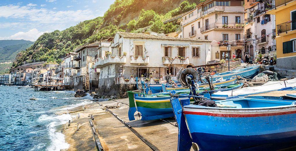 Des petits villages de pêcheurs...