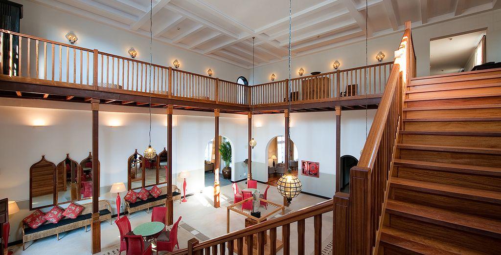 un luxueux hôtel aux influences mauresques
