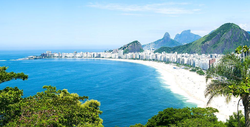 Rejoignez l'une des plus célèbres plages du monde...