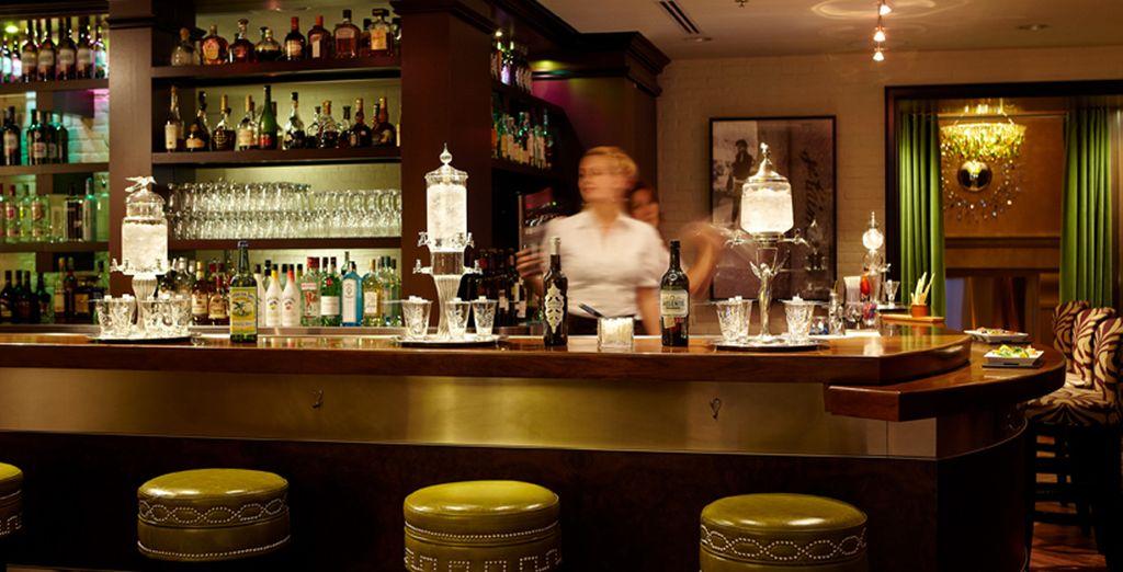 Racontez vos sensations de la journée autour d'un cocktail...
