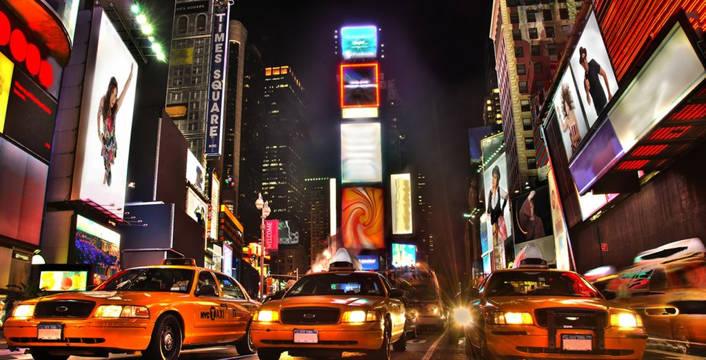 Quartier du Times Square aux Etats-Unis, New York