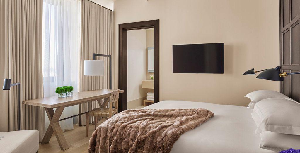 Hôtel de luxe tout confort à New York, Etats-Unis