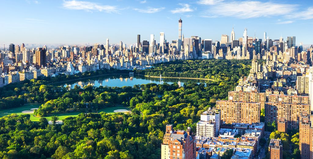 Photographie du Central Park de New York aux Etats-Unis