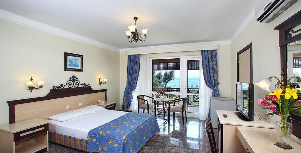 Hôtel sélectionné par Voyage Privé avec vue sur la mer