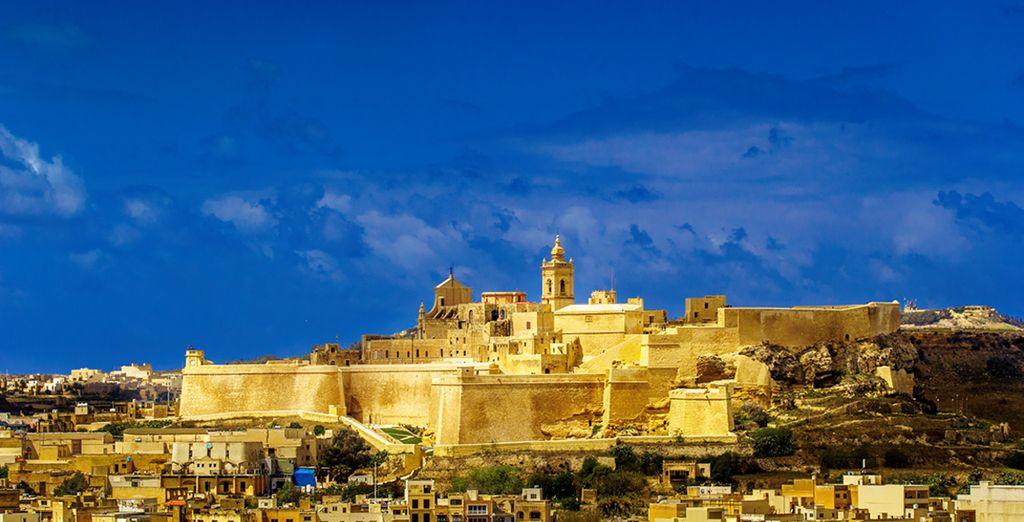 Photographie de l'archipel de Gozo à Malte