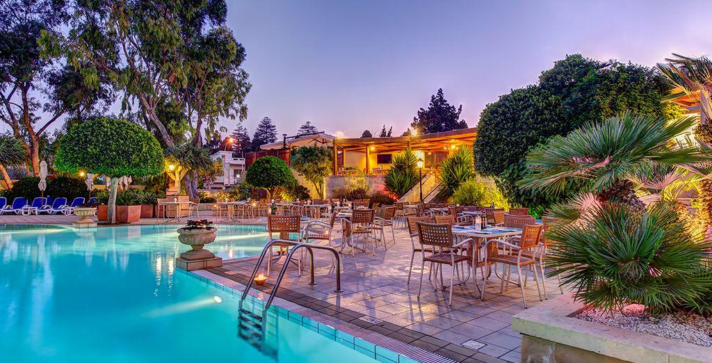 Hôtel de luxe à Malte avec piscine et espace détente