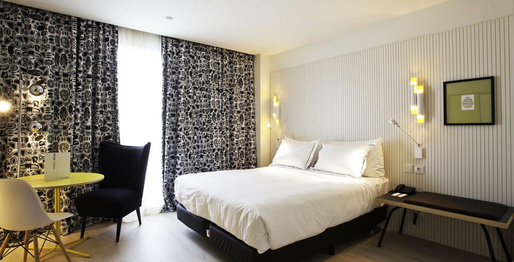 Hôtel Vincci Bit 4* tout confort à Barcelone