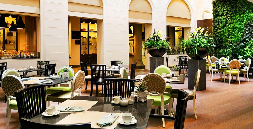 Hôtel cinq étoiles et restaurant gastronomique à la découverte des spécialités autrichiennes
