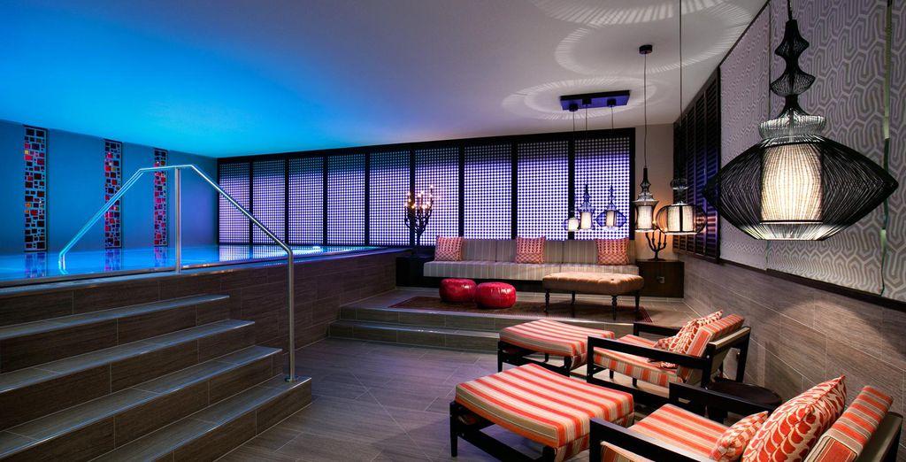 Hôtel de charme avec piscine intérieure et espace détente