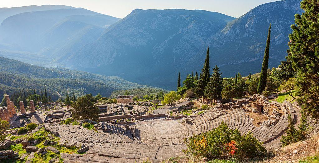 Autotour Histoire de la Grèce Centrale en 4* - 7 jours / 6 nuits