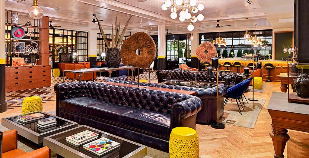 Hôtel de charme 4 étoiles avec espace détente et salon