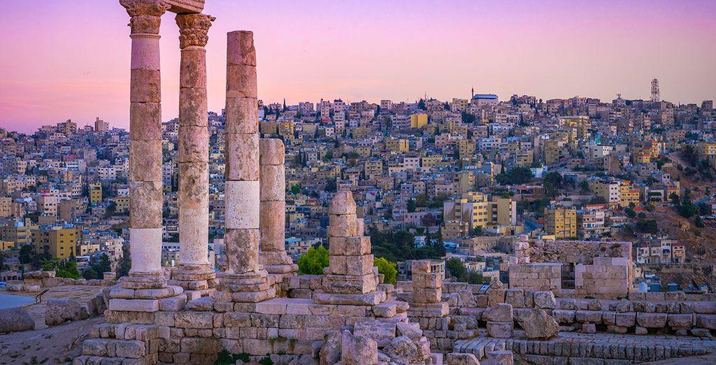 Amman, la capitale de la Jordanie