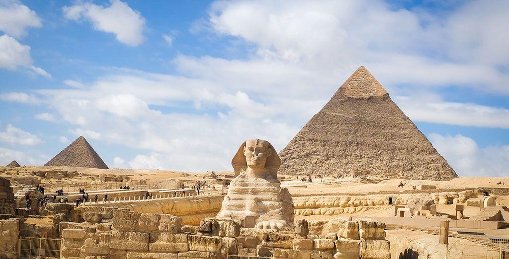Partez aux pays des pharaons et des pyramides, l'Egypte