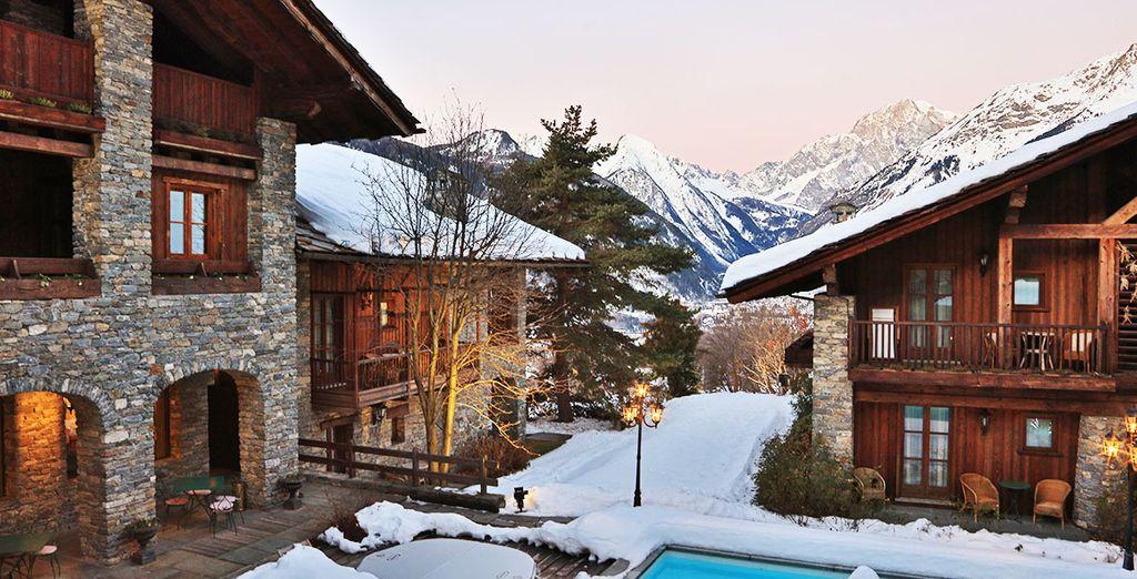 Chalet / confortevole alloggio in Valle d'Aosta con piscina coperta e zona relax