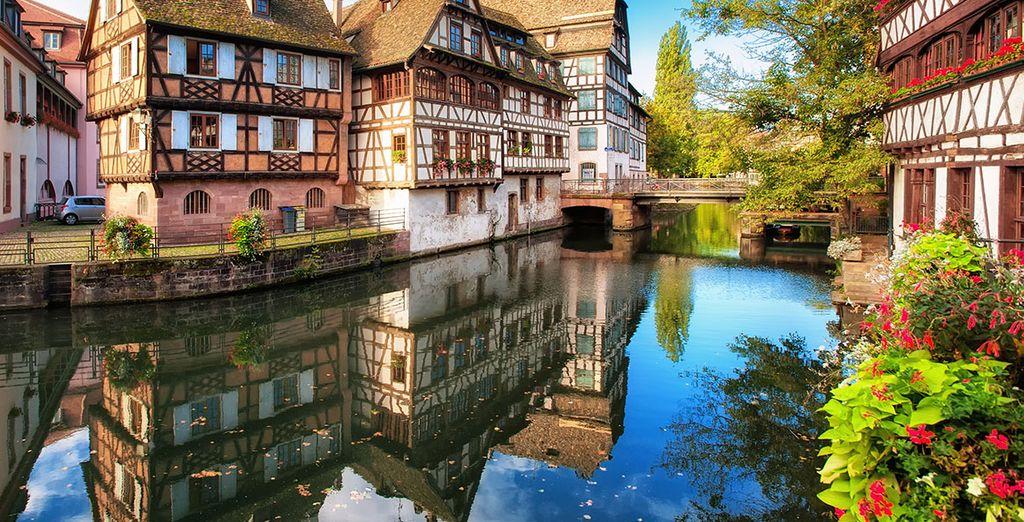 Escapade romantique sur les canaux de Strasbourg