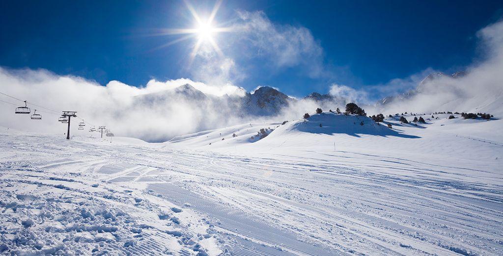 Séjour au ski à Pyrénées 2000 tout compris