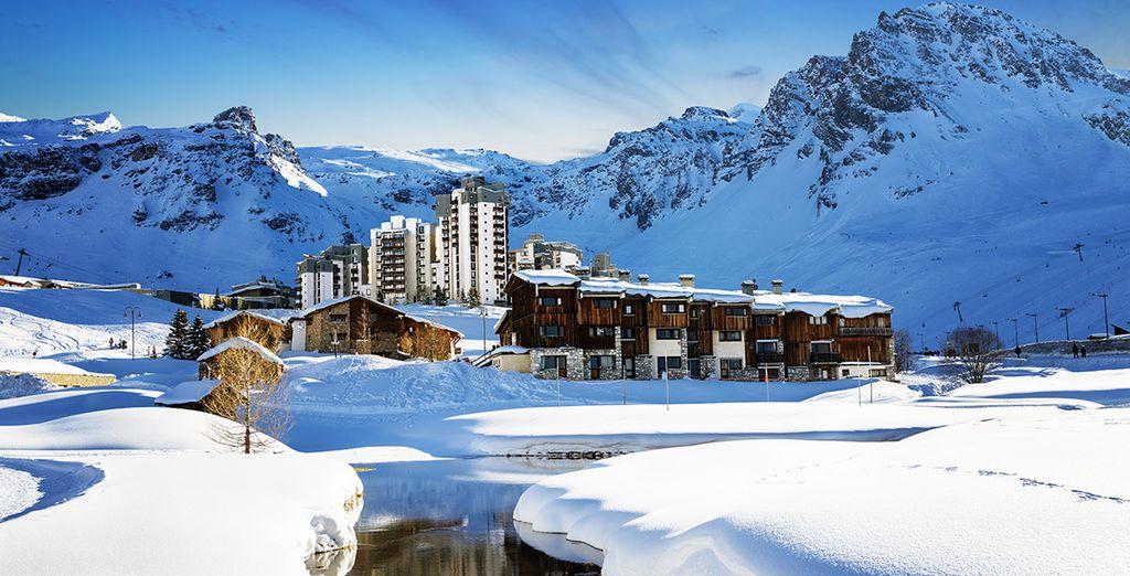 Organisez vos vacances au ski à Tignes