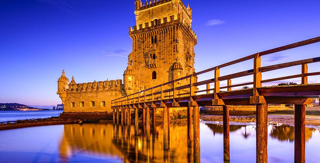 La Tour de Belém est un monument incontournable de Lisbonne
