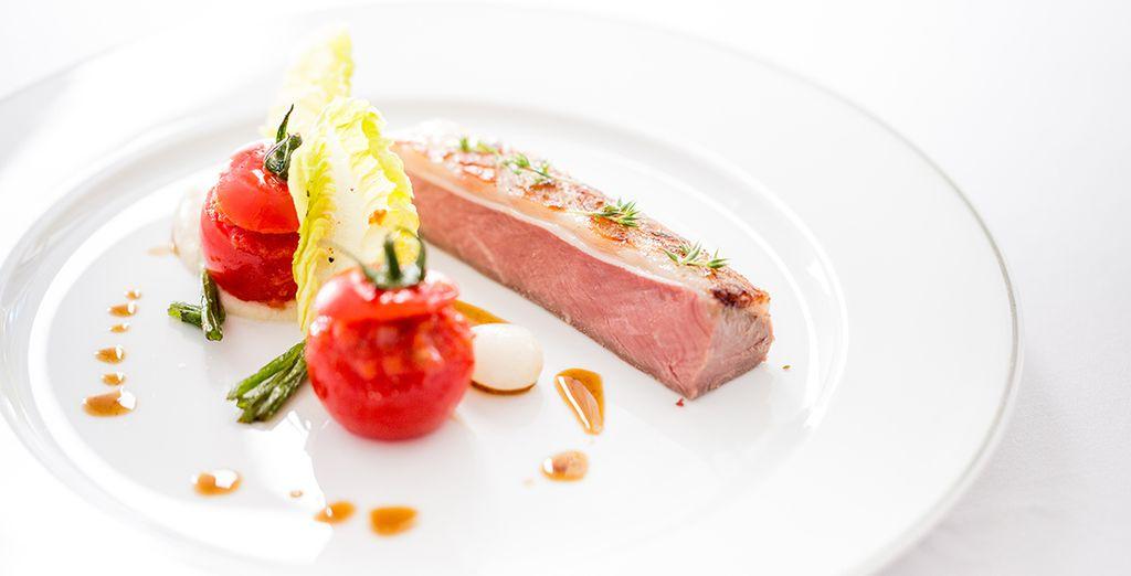 Qui vous proposera une cuisine gastronomique exceptionnelle