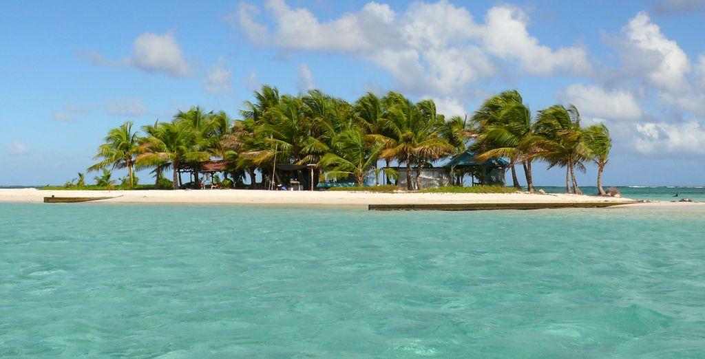 A vous les merveilleuses îles des Antilles...