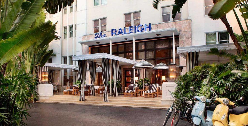 Découvrez l'ambiance décontractée du Raleigh Miami