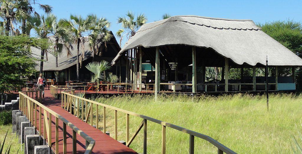 Où vous séjournerez au Maramboi Tented Camp